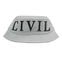 Civil Regime Bucket Hat , Wht, Bucket Hat
