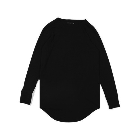 Knyew L/S Thermal E-Long Scoop Tee