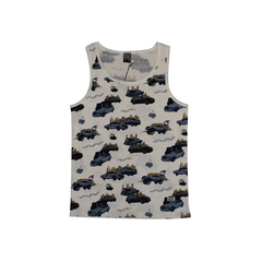 Rocksmith Pop The Trunk Olive Tank, Olive, M