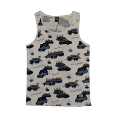 Rocksmith Pop The Trunk Olive Tank