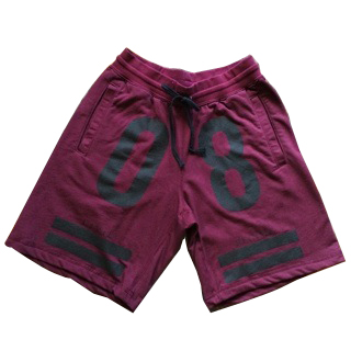 Civil Teamsta Fleece Shorts, Maroon, S