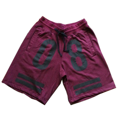Civil Teamsta Fleece Shorts, Maroon, XL