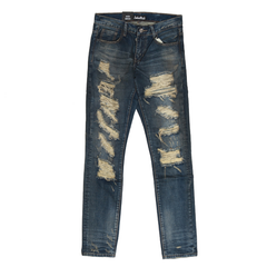 Embellish Cougar Ripped Denim