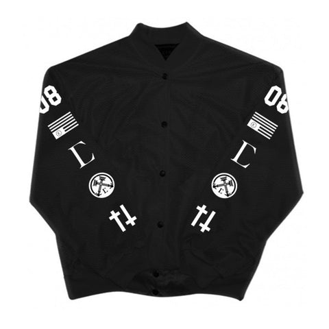 Civil High Rank 08 Mesh Bomber Jacket