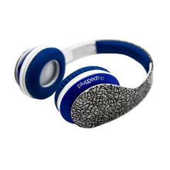 Plugged Inc True Blue Headphones
