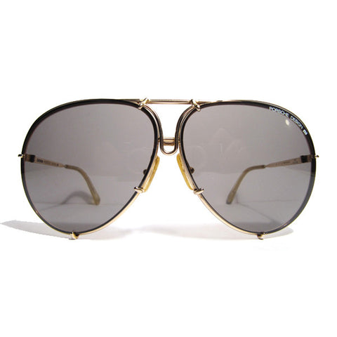 Vintage Frames Porshe by Carrera Aviator Black