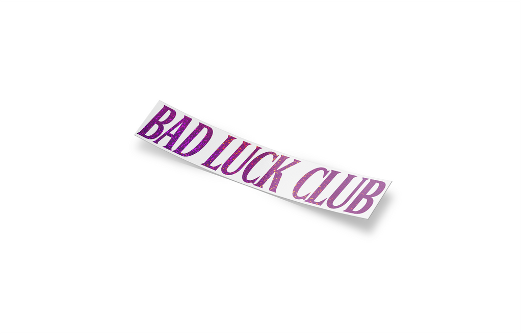 Bad Luck Club! DIE-CUT