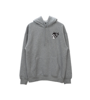 Box Cat! - Grey Hooded Sweatshirt