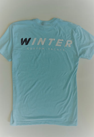 Classic Winter Short Sleeve Shirt - Blue/Green