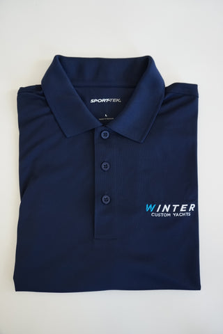Classic Winter Polo - Navy