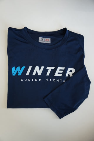 UV Classic Winter Long Sleeve Shirt - Navy