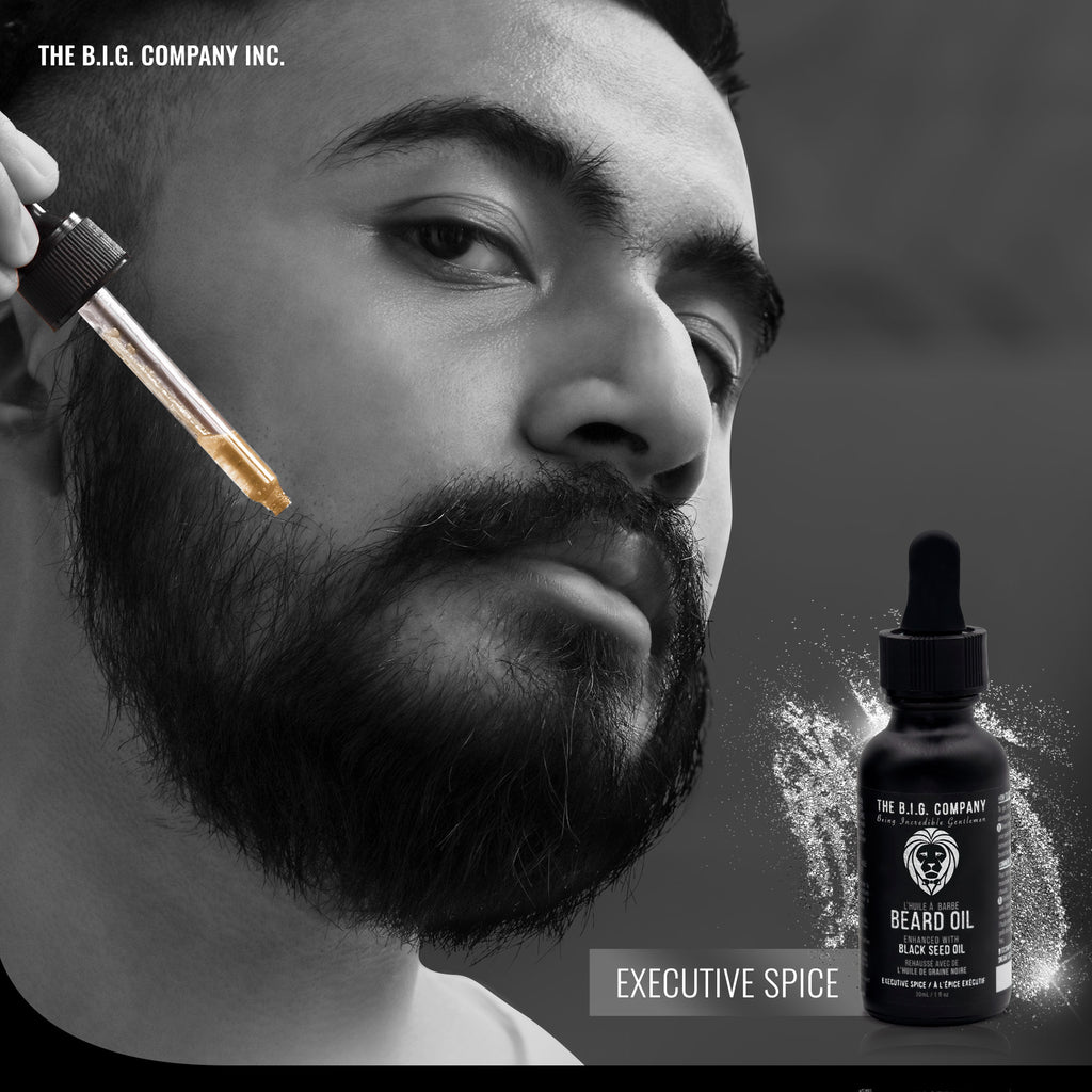 Executive Spice Black Seed Oil Beard Oil