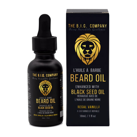 Beard Oil [Regal Vanilla]