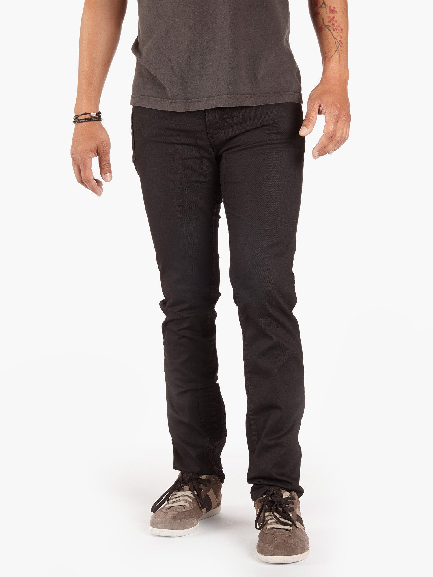 Black Twill Traffic Jean