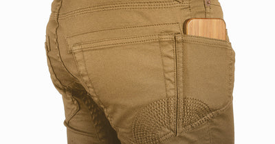 Khaki Twill Traffic Jean