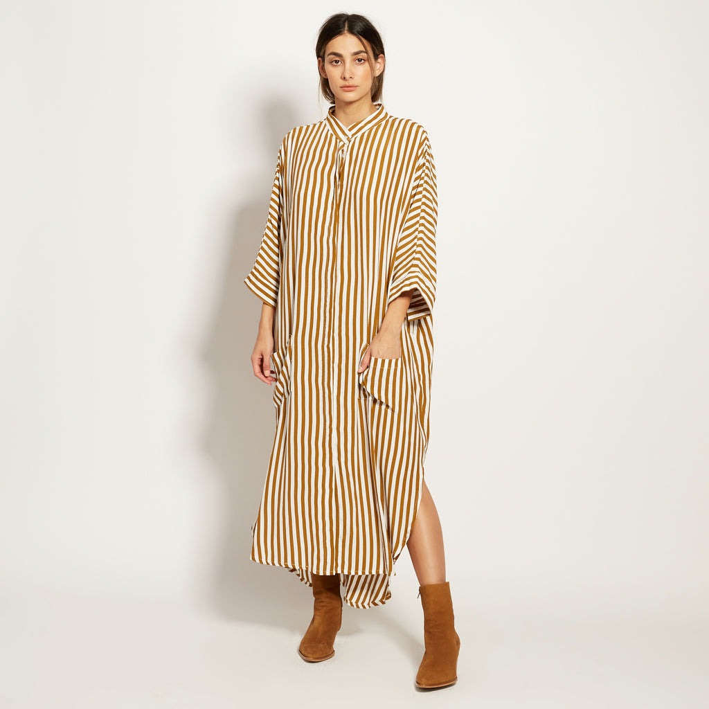 *PRE-ORDER* YVES IN TAPENADE BIG STRIPE