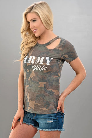 Army Wife Top