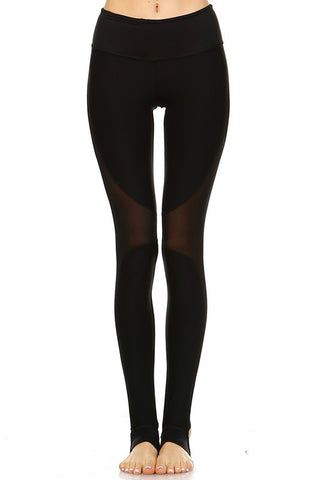 Mesh Athletic Leggings