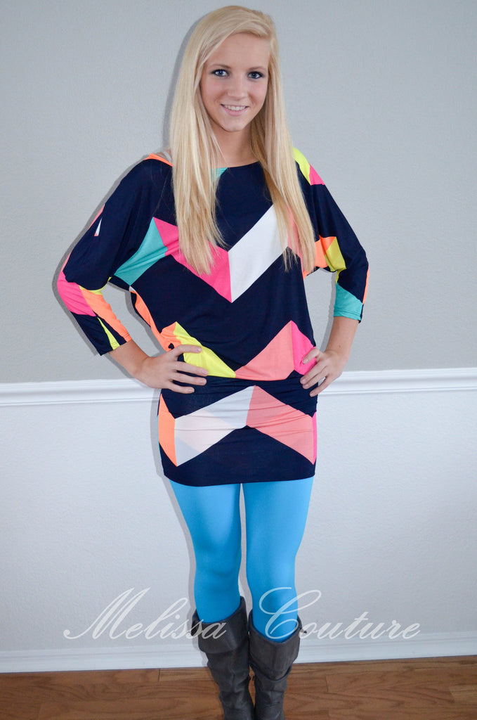 Multi-Color Tunic