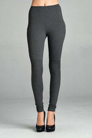 Charcoal Slim Fit Legging Pants