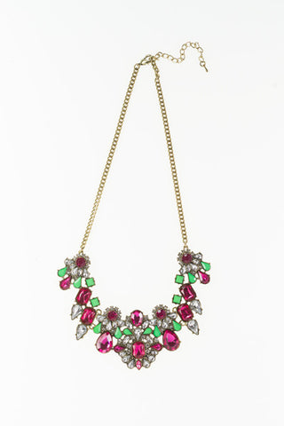 Green and Pink Necklace