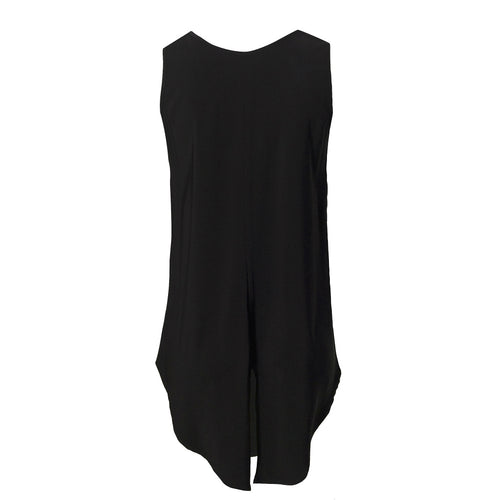 Viscose Tank Black - Tiffany Treloar