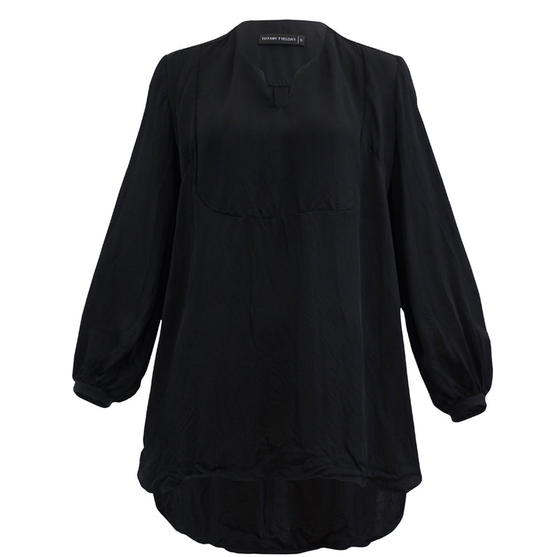 Tiffany Treloar Madeline Black Top Front