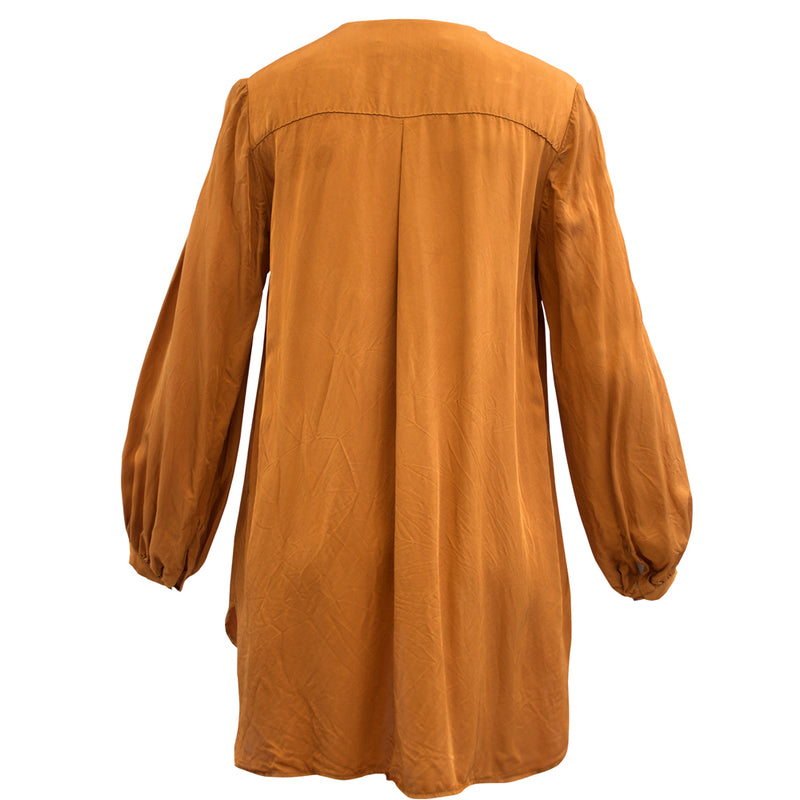 Tiffany Treloar Madeline Caramel Top Back