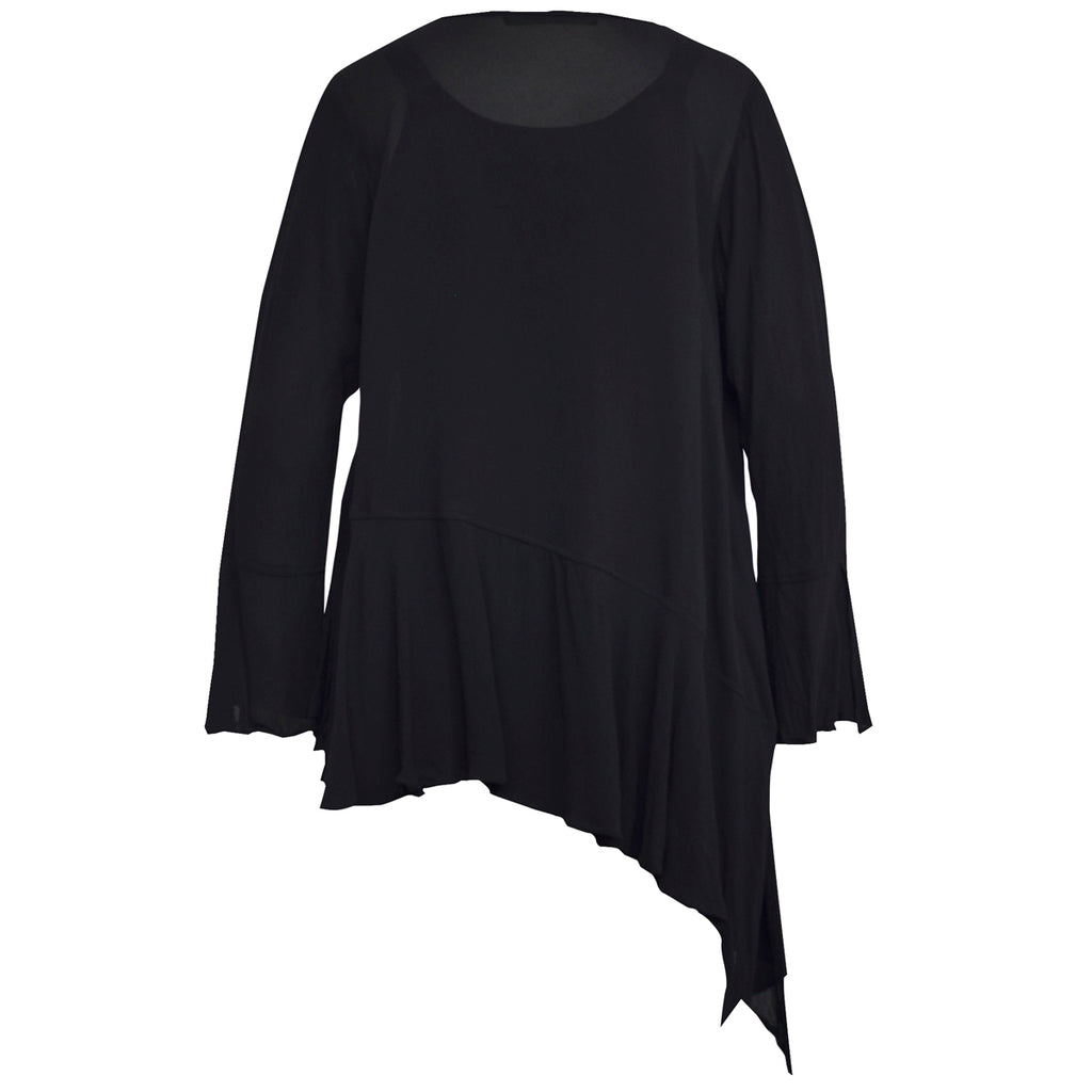 Tiffany Treloar Wynona Top Black Back