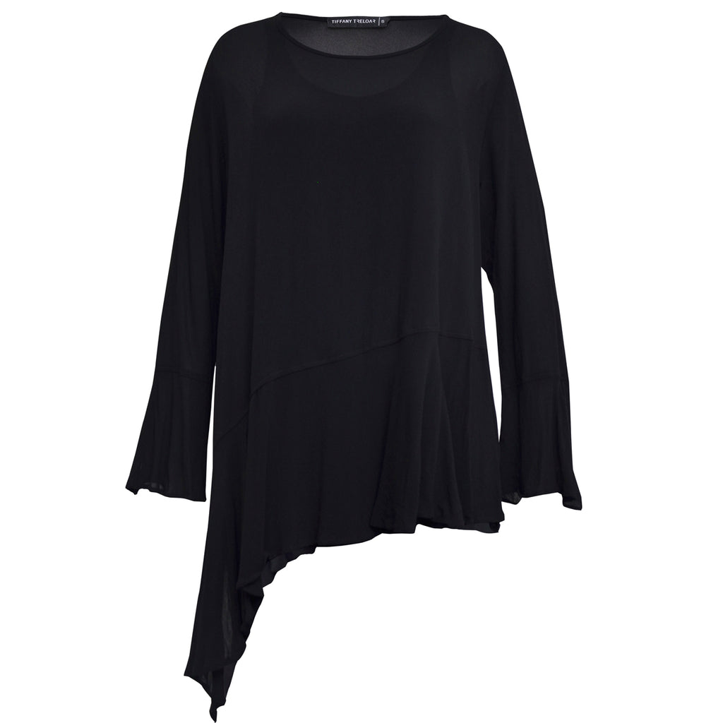 Tiffany Treloar Wynona Top Black Front