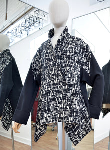 Moyuru Black Swing Jacket  Art Number 183630