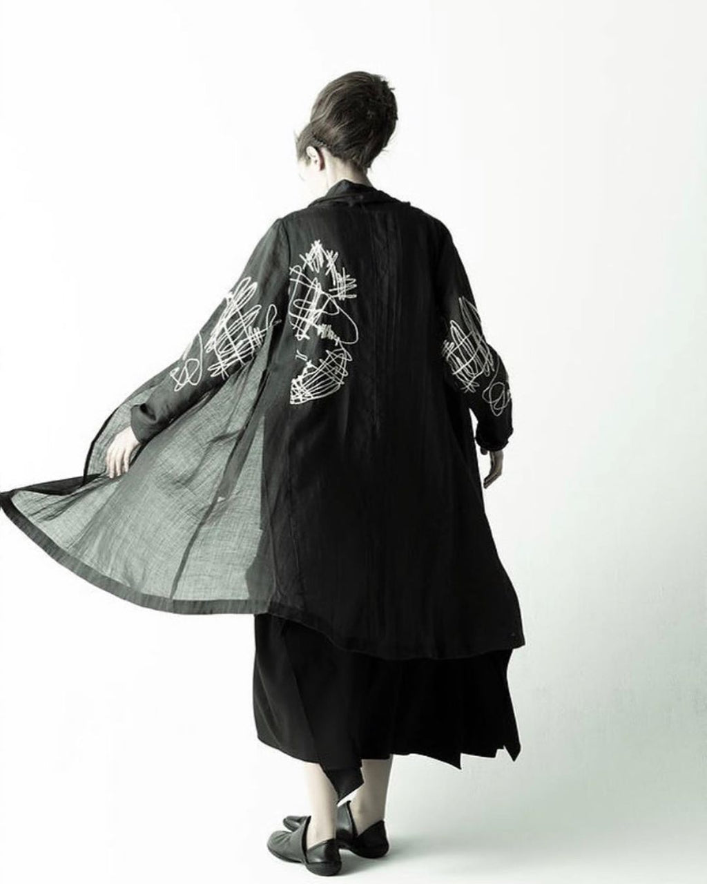 Moyuru Black Duster 191623