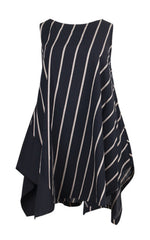 Moyuru, Striped Sleeveless Tunic 191630 - Tiffany Treloar
