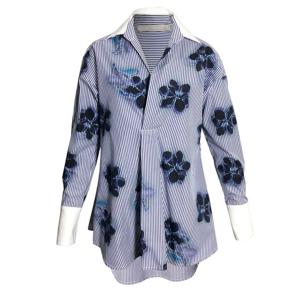 Tiffany Treloar Cotton Print Shirt Magnolia