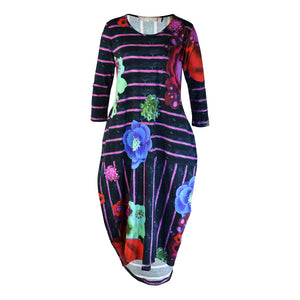 Tiffany Treloar Talullah Print Cotton Dress Asta Front