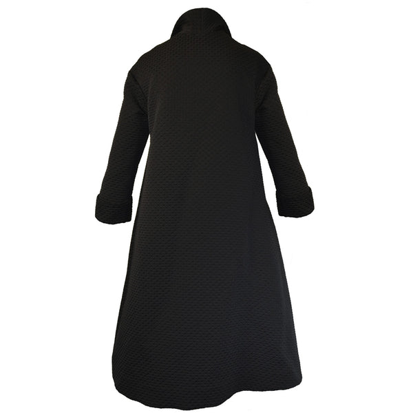 Tiffany Treloar Portmanteau Coat Black Back