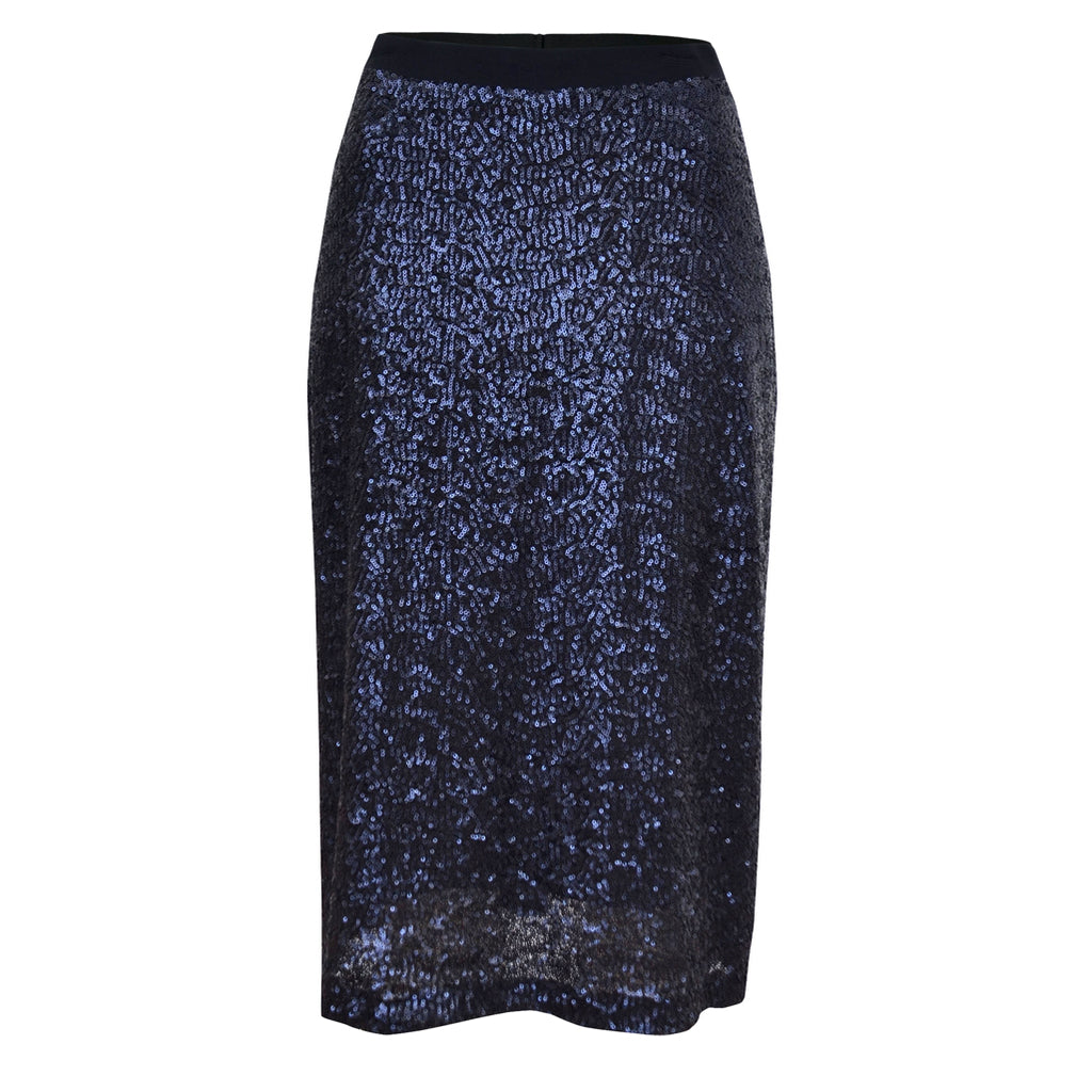 Tiffany Treloar Sequinned Skirt Twilight Front