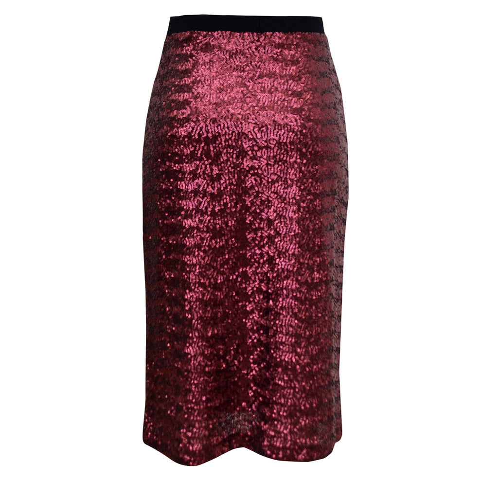 Tiffany Treloar Sequinned Skirt Romance Back