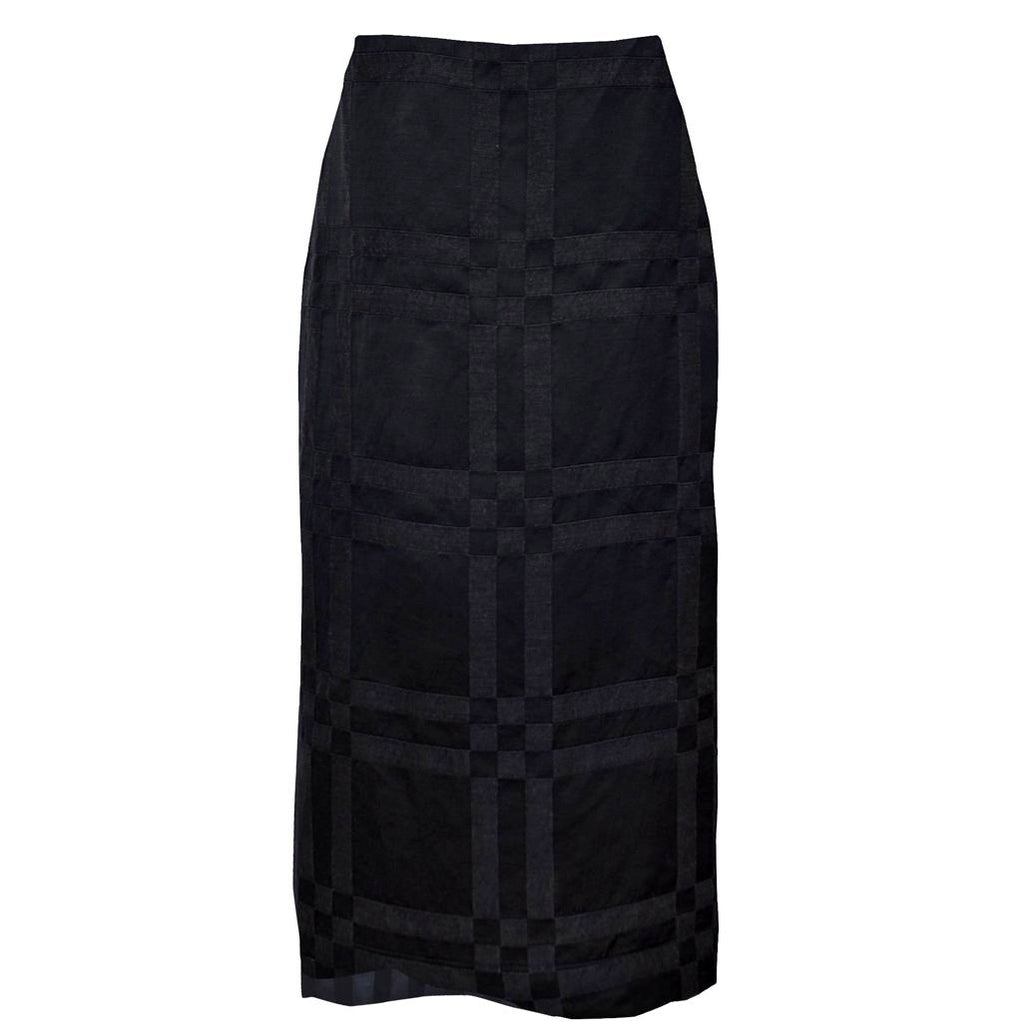 Tiffany Treloar, Italian Linen Viscose Skirt Black - Tiffany Treloar