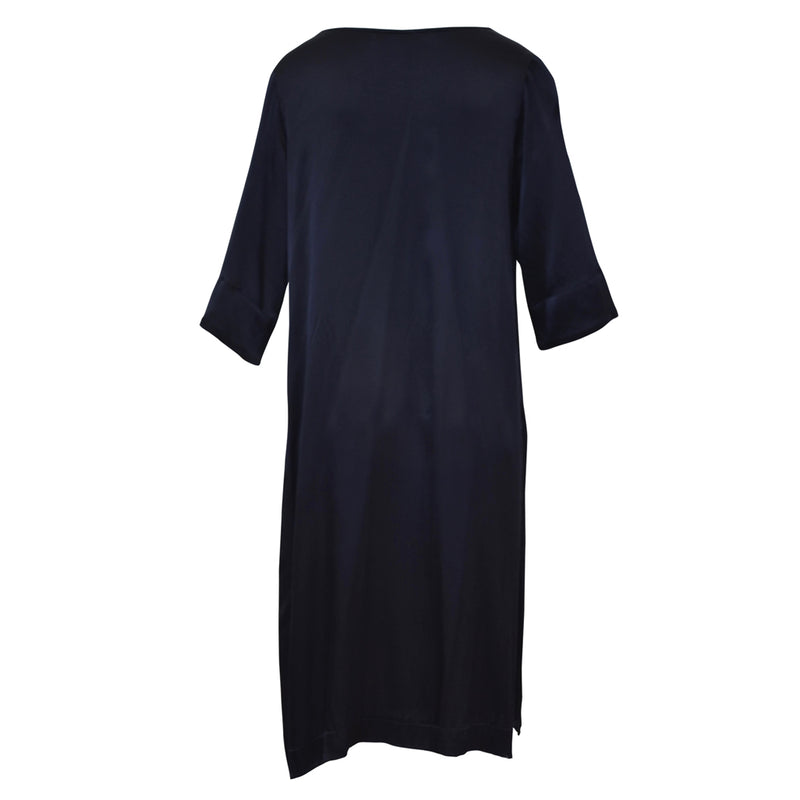 Tiffany Treloar Viscose Paris Tunic Navy Back