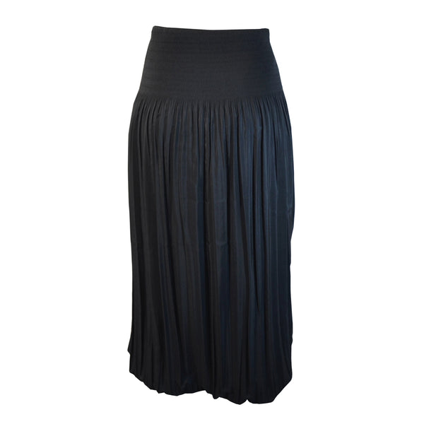 Tiffany Treloar Pleat Skirt Black Back