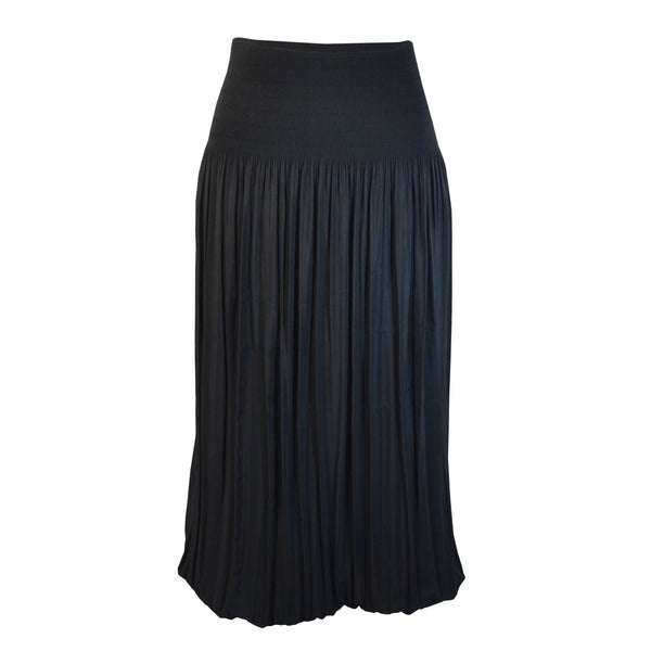 Tiffany Treloar Tiffany Treloar Pleat Skirt Black Front