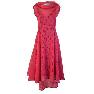 Tiffany Treloar Embroidered Circle Dress Grenadine Front