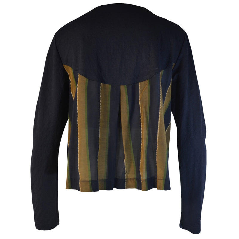 Tiffany Treloar Courbes Jacket Navy Brass Back