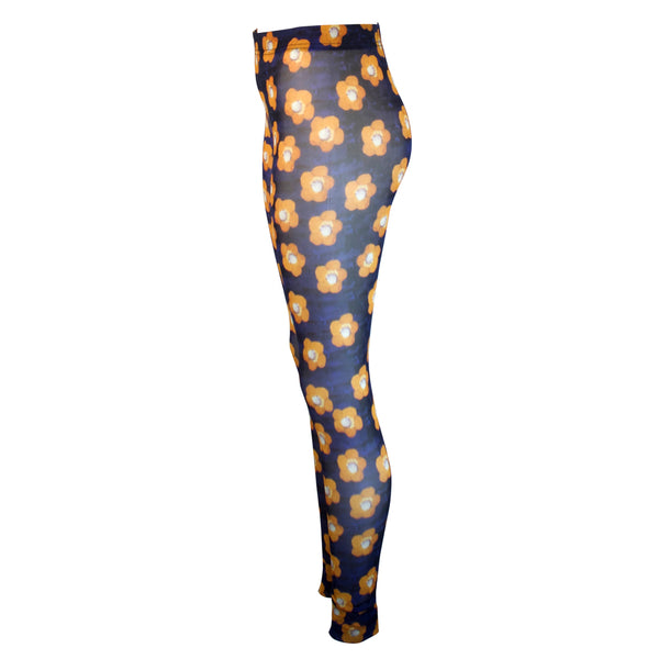 Tiffany Treloar Print Net Leggings Atelier