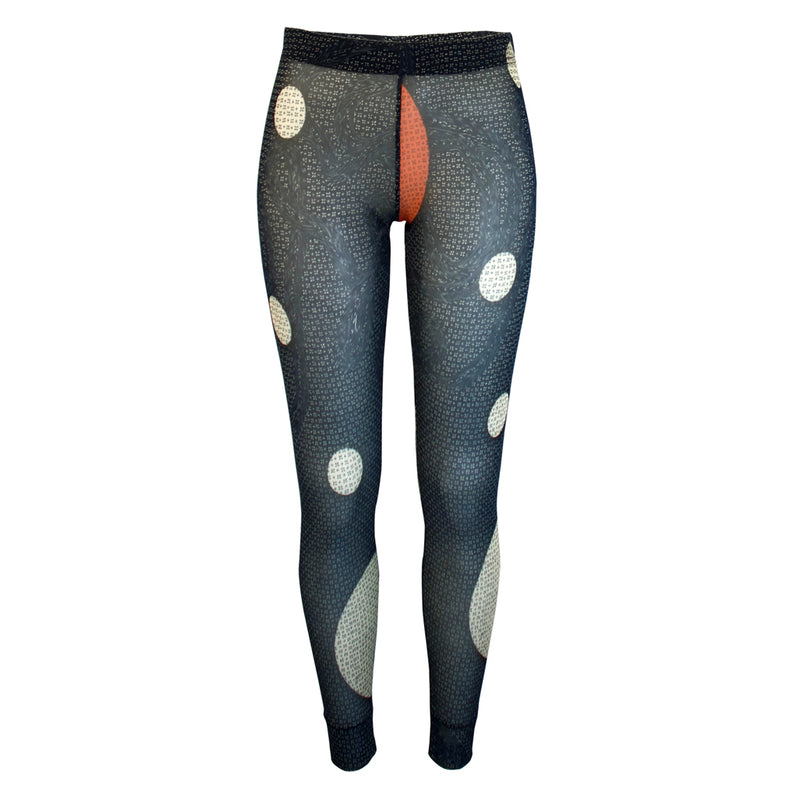 Print Net Leggings Grafitti Front