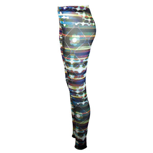 Tiffany Treloar Print Net Leggings Rocco