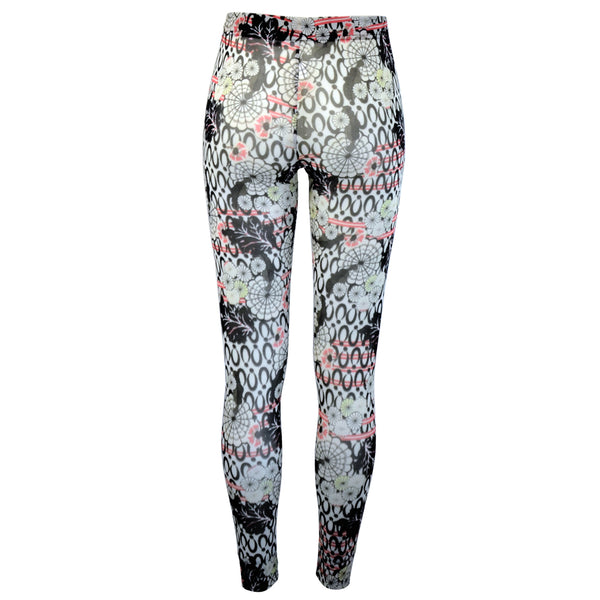 Tiffany Treloar Print Net Leggings Yumi Back