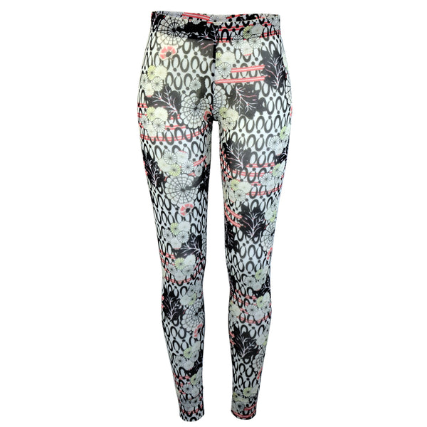 Tiffany Treloar Print Net Leggings Yumi Front
