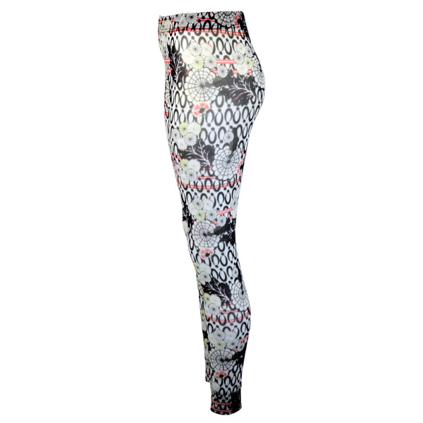 Tiffany Treloar Print Net Leggings Yumi